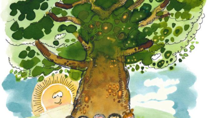 Ilustracion Suryakiranam Formacion Yoga Infantil
