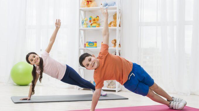 Cómo Dominar El Equilibrio  Mediante El Yoga Para Niños