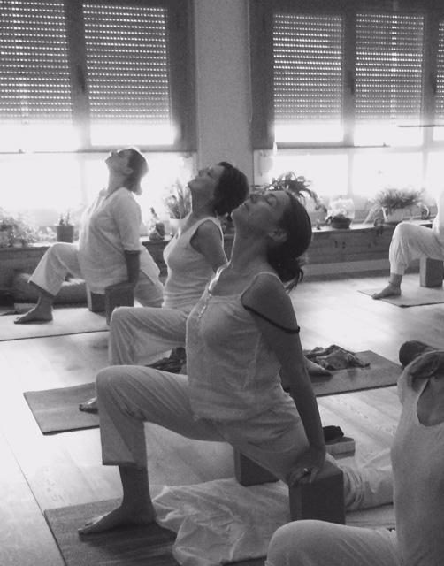 clase hatha yoga