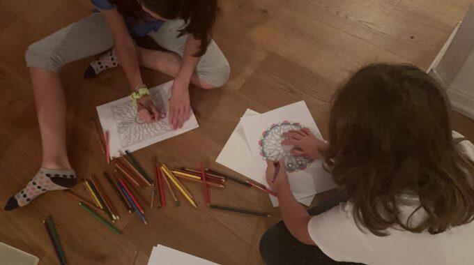 Pintando Mandalas Con Niños: Cómo, Cuándo Y Por Qué